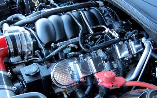 Custom Finned Ls Valve Covers on Corvette Ls3 Engine Covers