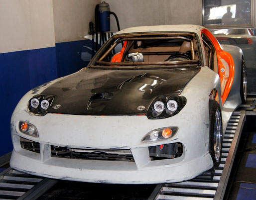 rx-7 lsx engine conversion and tuning