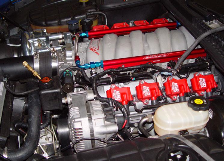 C5 Corvette Supercharger 418cid LS2 Stroker Excelsior