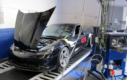 chevy corvette z06 mojave mile dyno tuning